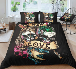 L5 Skull Bedding Set