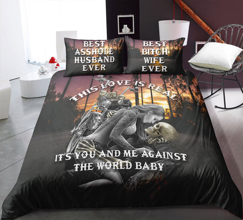 Image of M1 Skull Bedding Set