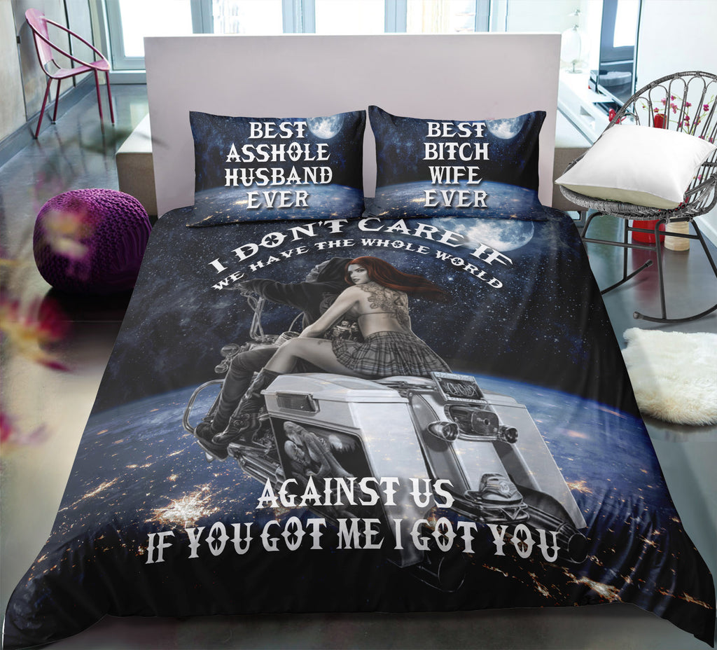 M6 Skull Bedding Set