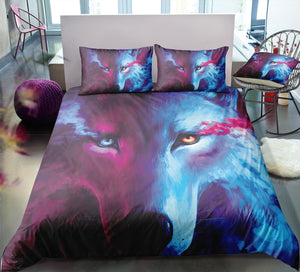 Magical Mystic Wolf Bedding Set - Beddingify