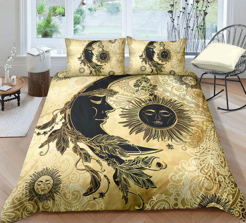 Image of Moon Dreamcatcher Bedding Set - Beddingify