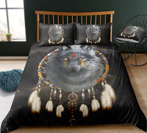 Mystic Wolf Bedding Set - Beddingify