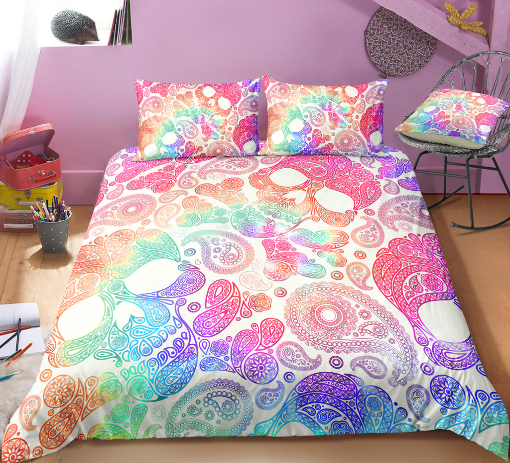 N1 Skull Bedding Set