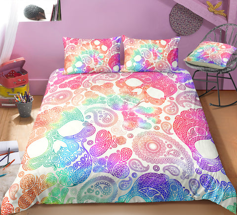 Image of N1 Skull Bedding Set