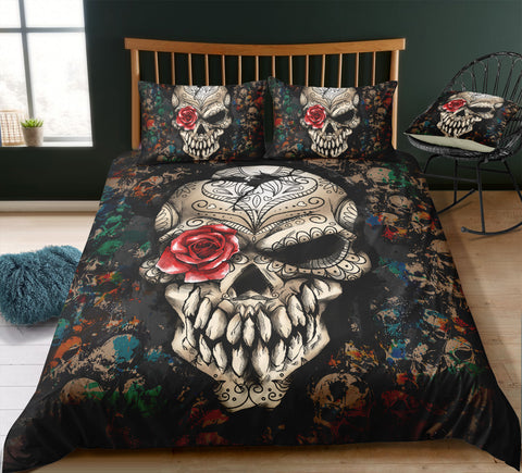 Image of N3 Skull Bedding Set