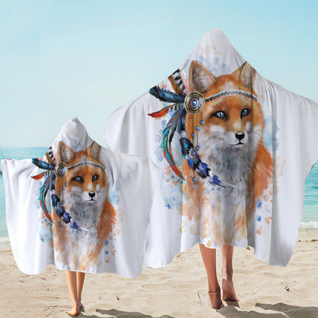 Warchief Fox Hooded Towel