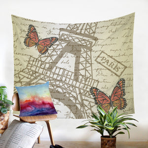 Paris Letter SW1537 Tapestry
