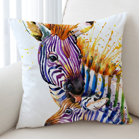 Image of Colordrip Zebra SWKD0847 Cushion Cover