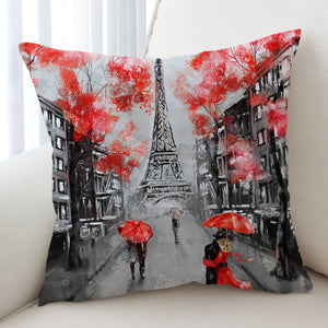 Rainy Paris SWKD1389 Cushion Cover