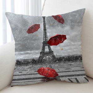 Rainy Paris SWKD1533 Cushion Cover