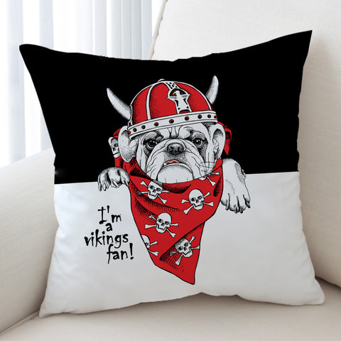 Viking Pug SWKD2528 Cushion Cover
