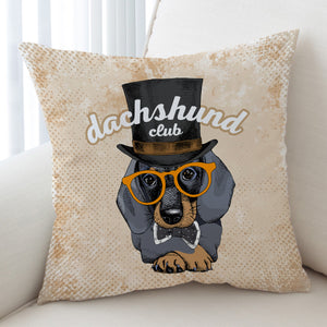 Dachshunds Club SWKD2529 Cushion Cover