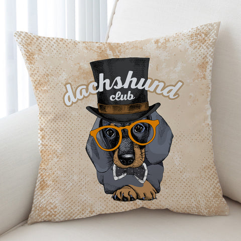 Image of Dachshunds Club SWKD2529 Cushion Cover