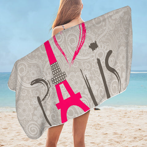 Paris SWYJ0446 Bath Towel