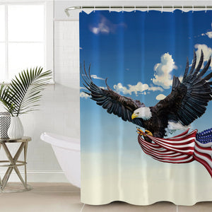 American Eagle SWYL0285 Shower Curtain
