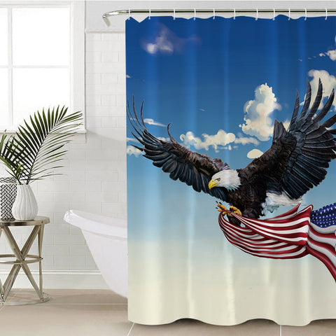 Image of American Eagle SWYL0285 Shower Curtain
