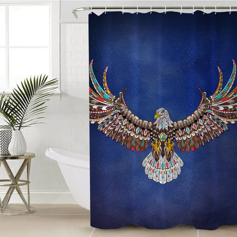 Image of Soaring Eagle SWYL1093 Shower Curtain