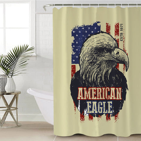 Image of American Eagle SWYL1844 Shower Curtain