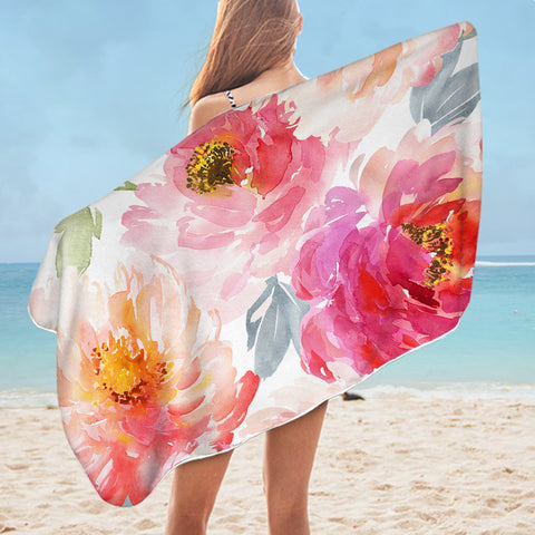 Flowers SWYL3022 Bath Towel