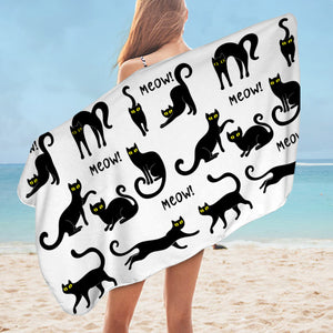Meow SWYL3023 Bath Towel