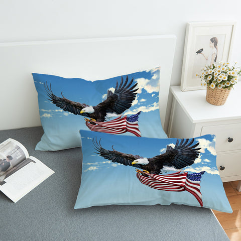 Image of American Eagle SWZT0285 Pillowcase