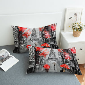 Rainy Paris SWZT1389 Pillowcase