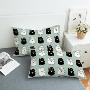 Calling Cat SWZT2531 Pillowcase