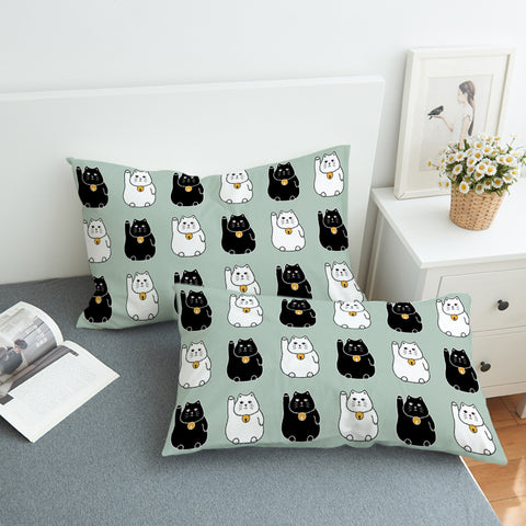 Image of Calling Cat SWZT2531 Pillowcase