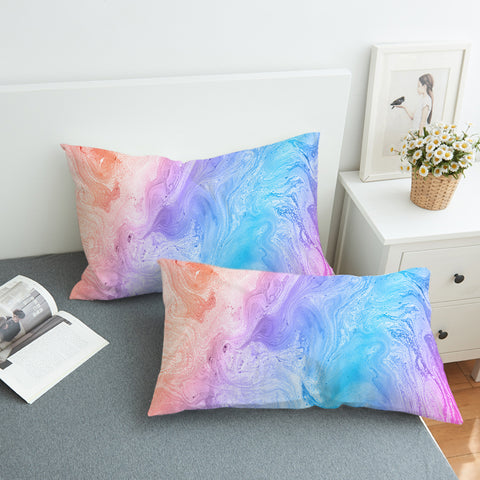 Image of Colorful Beach SWZT2534 Pillowcase