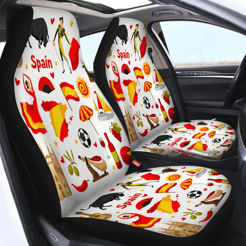 Spain SWQT1831 Car Seat Covers