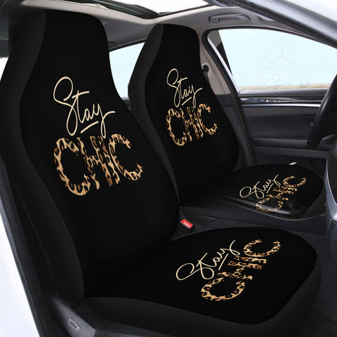 Stay Chic SWQT1197 Car Seat Covers