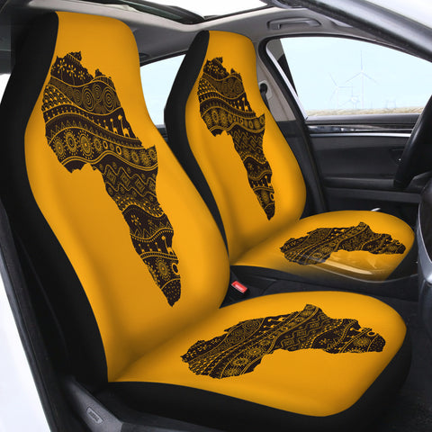 The Map SWQT0831 Car Seat Covers