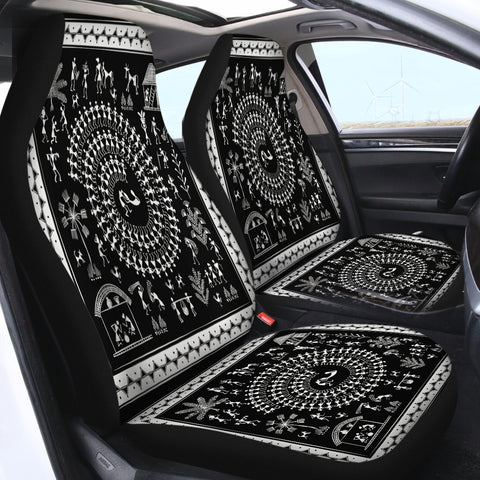Image of Tripe SWQT2177 Car Seat Covers