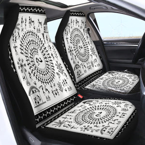 African Pattern SWQT2178 Car Seat Covers