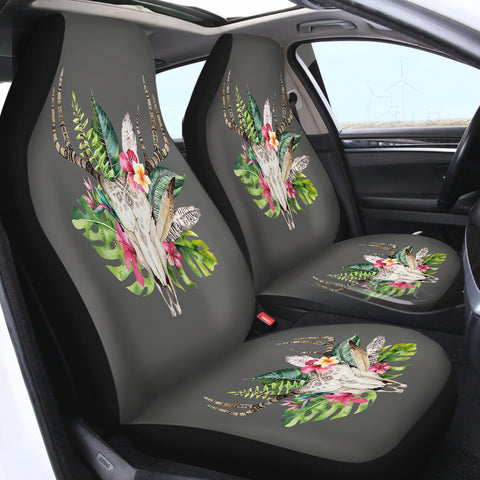 Image of Tropical Deer SWQT2076 Car Seat Covers