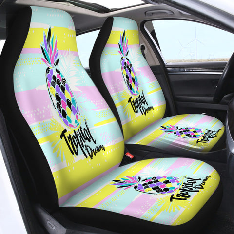 Image of Tropical Dream SWQT2493 Car Seat Covers