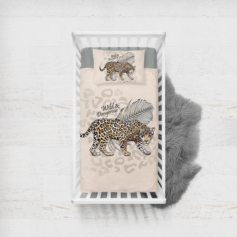 Wild & Dangerous SWCC2518 Crib Bedding, Crib Fitted Sheet, Crib Blanket