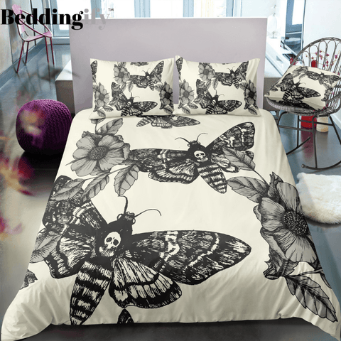 Image of L8 Skull Bedding Set - Beddingify