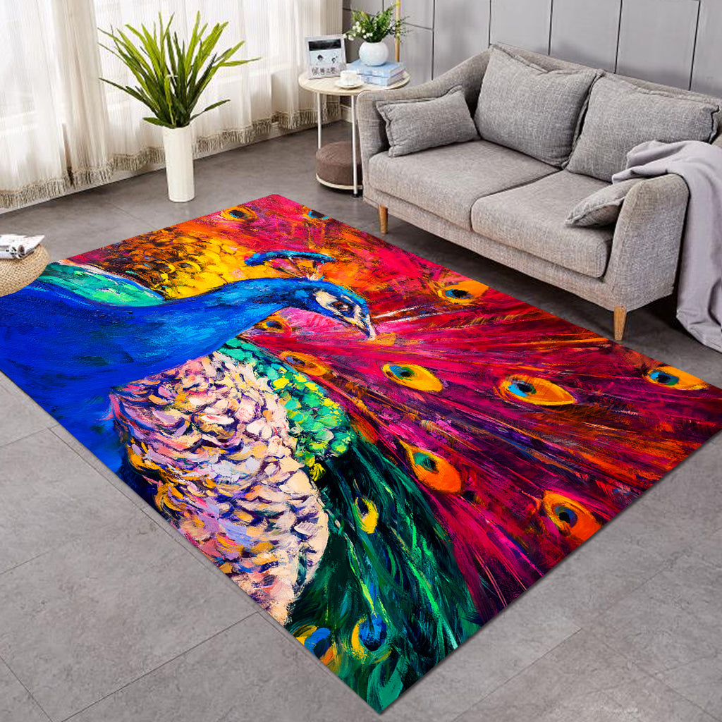 Painted Peacock SW2236 Rug