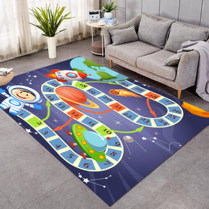 Boardgame Space Travel SW1710 Rug