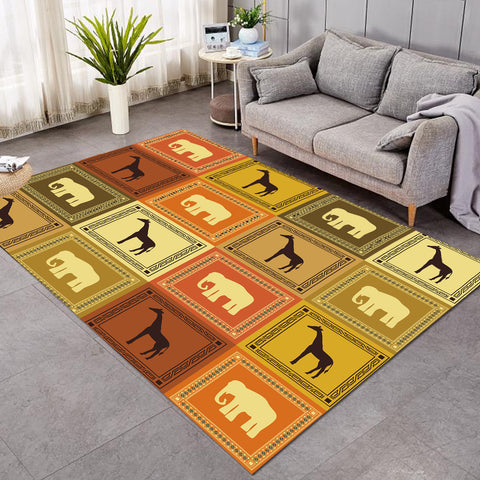 Image of Animal Boxes SW1914 Rug