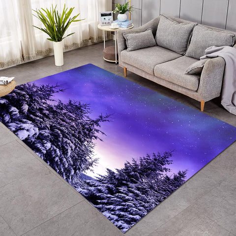 Winter Forest Purplish SW1741 Rug