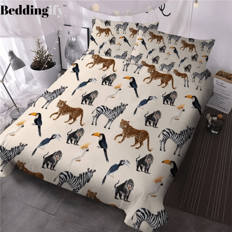 Wild Animals Bedding Set - Beddingify