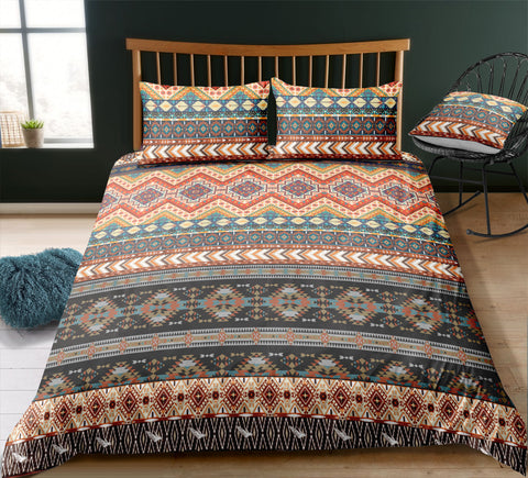 Image of Indian inspired - Blackfeet Aztec Bedding Set - Beddingify
