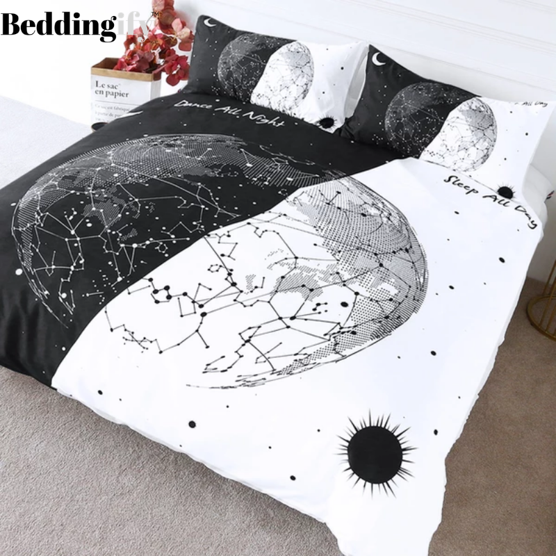 Earth Bulb Bedding Set - Beddingify