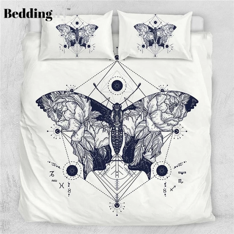 Image of Butterfly Art Bedding Set - Beddingify