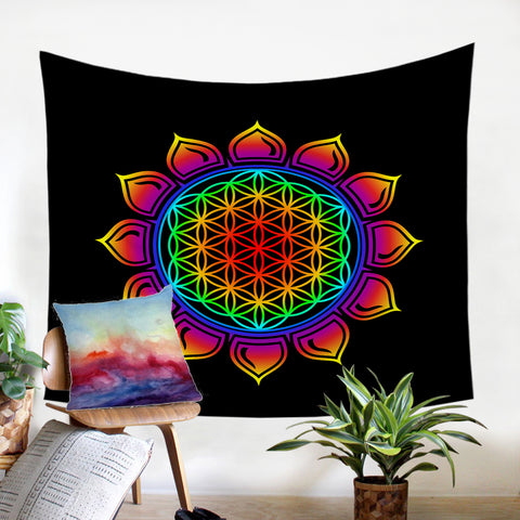 Image of Lotus Design SW2390 Tapestry