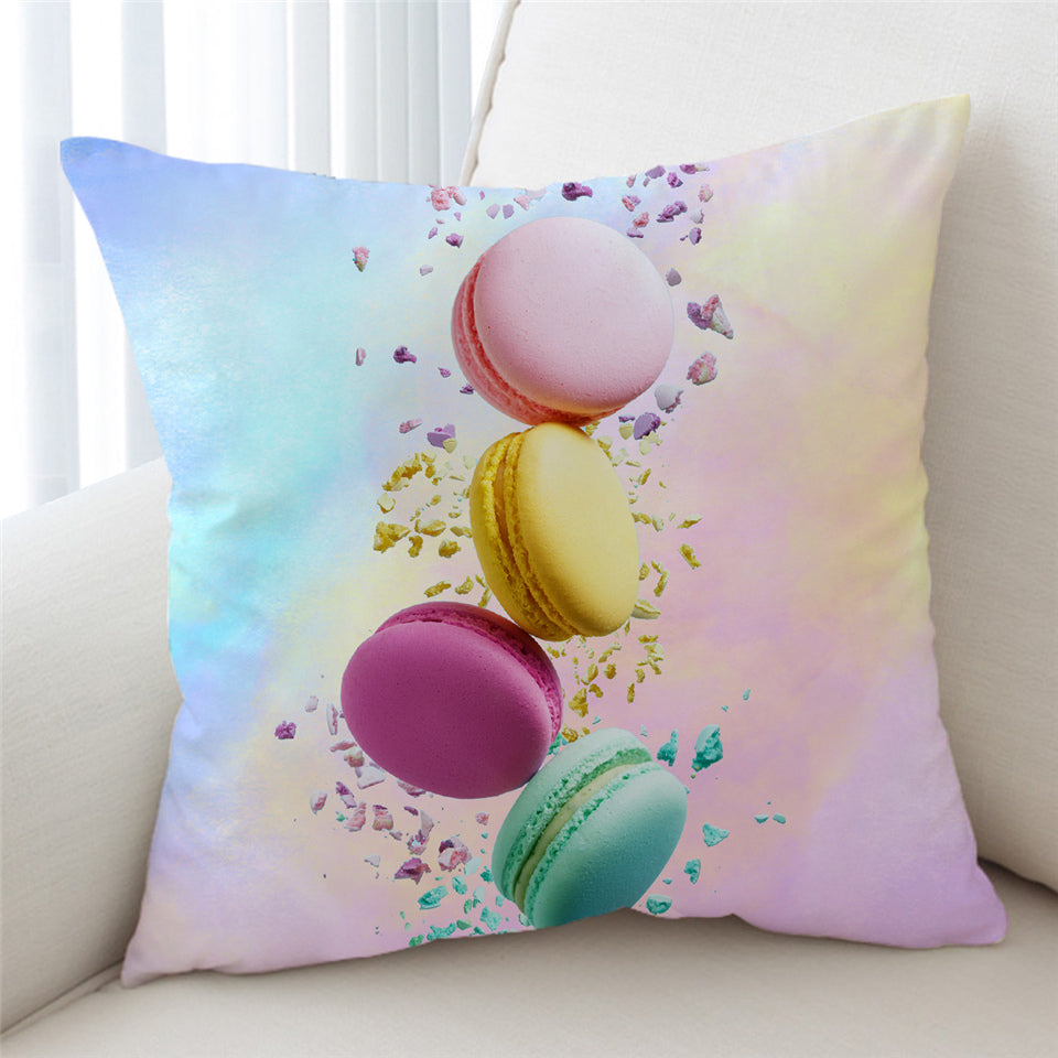 3D Colorful Cookie Cushion Cover - Beddingify