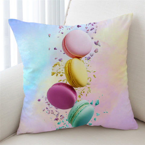 Image of 3D Colorful Cookie Cushion Cover - Beddingify