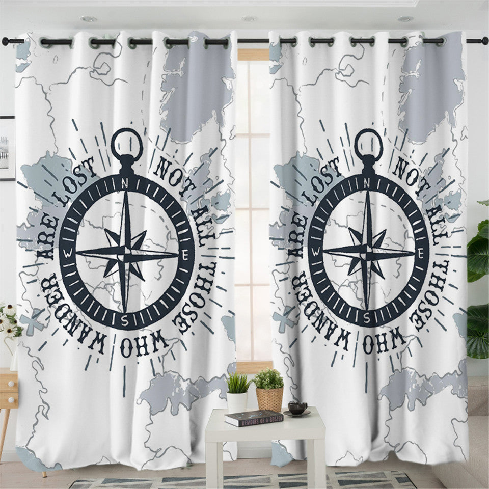 Compass 2 Panel Curtains